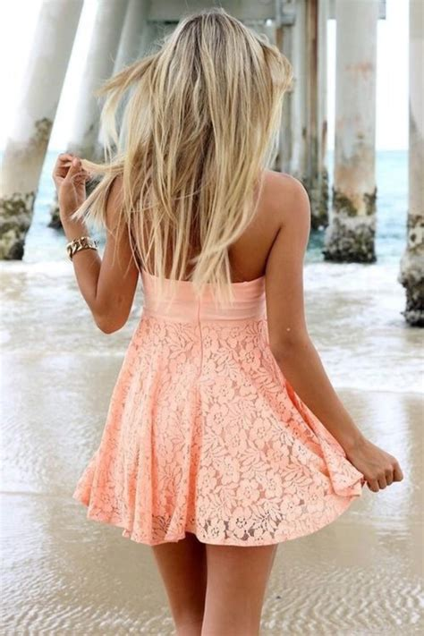 Summer Dress Pantai Sundress Jumpsuit On Romper Orange Leaf dress orange sundress flowers wheretoget