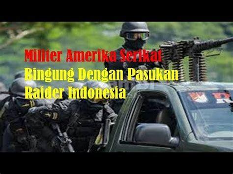 Pasukan Payung Amerika Serikat militer amerika serikat bingung dengan pasukan indonesia