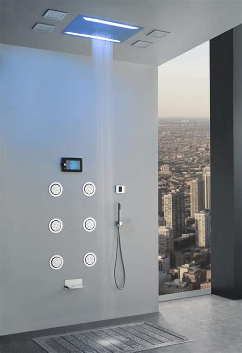 Aqua Shower System by Aqua Sense Electronic Shower System Delivers Spa Like