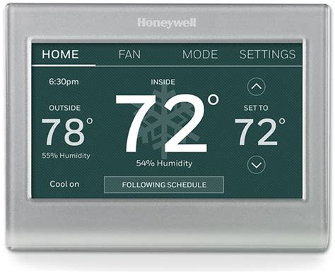 Wi Fi Smart Color Thermostat (RTH9585WF)   Honeywell