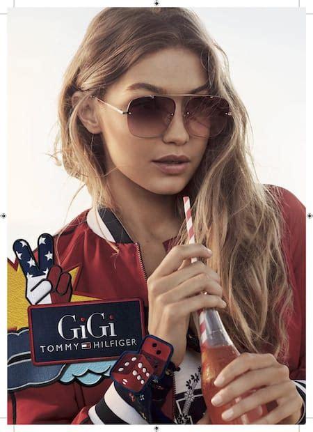 Home Design American Style by Gigi Hadid X Tommy Hilfiger Eyewear Collaboration