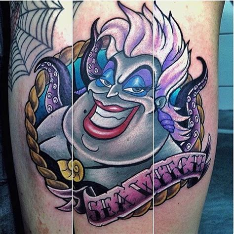 ursula tattoo in with this ursula by grahamlawrencetattoos