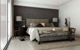 Gray Bedroom Decorating Ideas Grey Brown Taupe Sophisticated Bedroom Interior Design