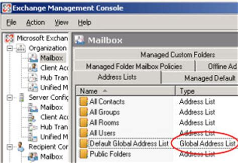 update global address list with pictures microsoft exchange 2010 gal global address list