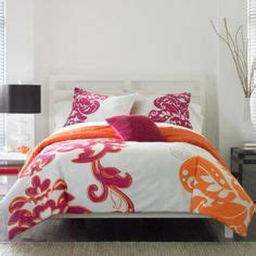 Orange And Pink Bedding by 1000 Images About Bed Room On Pink Bedding