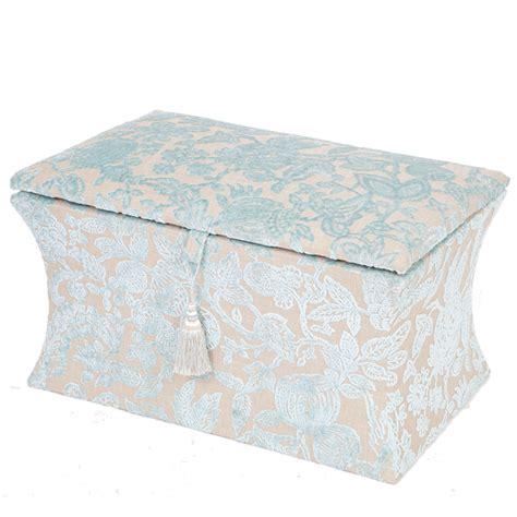 duck egg blue ottoman victorian style ottoman box the unique seat company