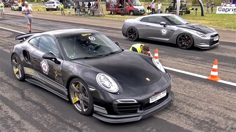 Porsche Turbo Vs Gtr by 9ff Porsche 991 Turbo S F91 900 Vs Nissan Gt R Vs Cls63