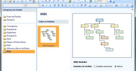 visio wbs modeler wancley eti br modelando wbs o visio e project 2007