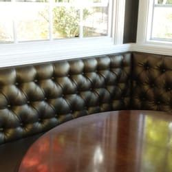Upholstered Breakfast Nook tri valley upholstery furniture reupholstery