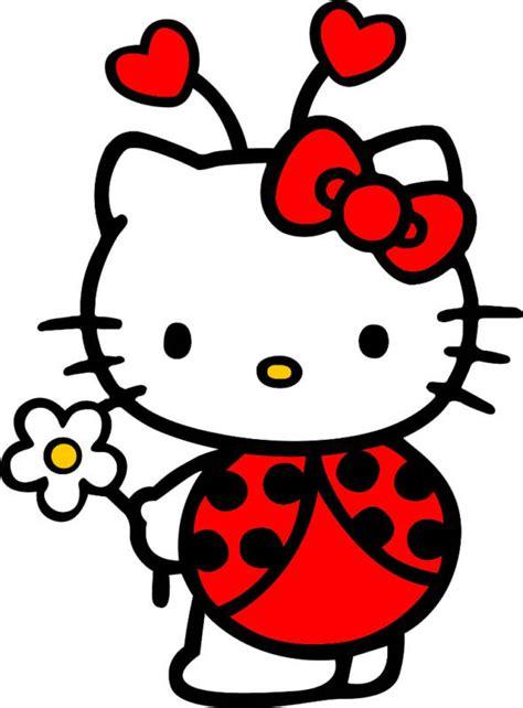 printable bug stickers hello kitty lady bug decal sticker hello kitty kitty