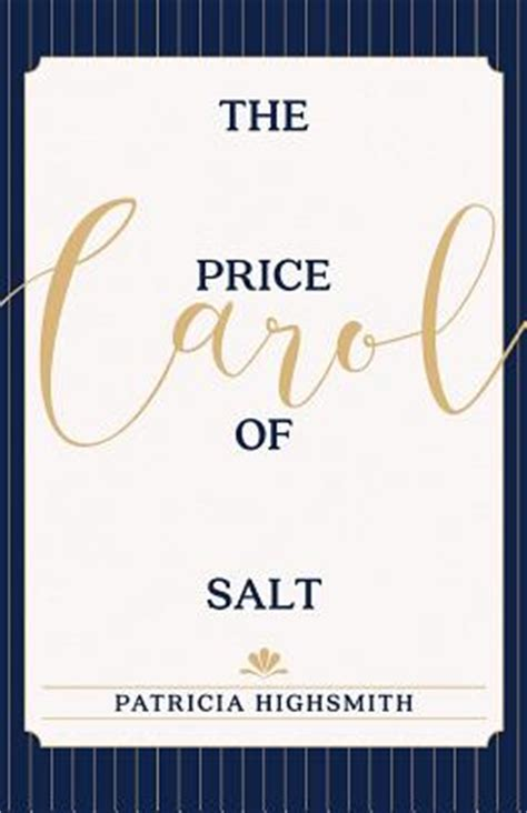 the price of salt the price of salt or carol paperback boswell book company