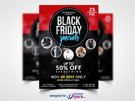 Flyers Sale Black Friday Sale Flyer Free Psd Flyer Psd