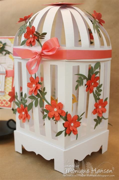 Paper Bird Cage Craft - paper birdcage templates search paper