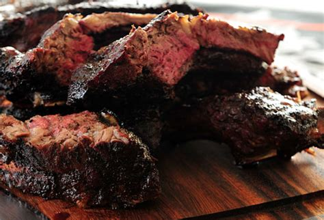 coffee rubbed beef ribs recipe dishmaps