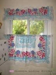matching kitchen curtains and tablecloths now i need to find a couple matching tablecloths and i can
