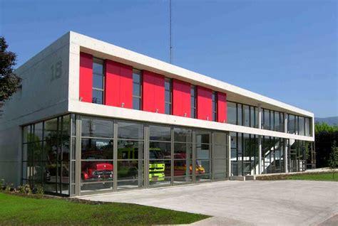 Fire Station Designs Floor Plans by Santiago Fire Station Building Architect E Architect
