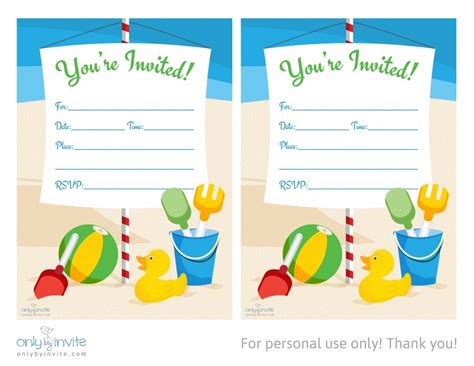 birthday party invitation template word gangcraft net