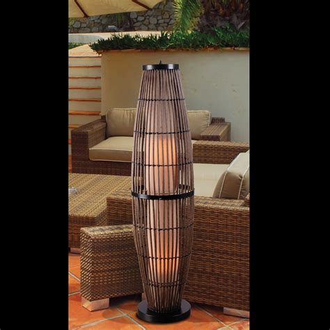 outdoor floor l kenroy home biscayne 1 light outdoor floor l l brilliant source lighting