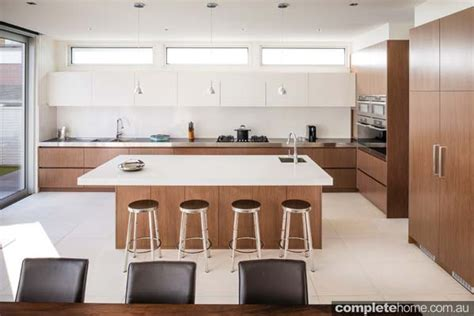 timber kitchen designs clean and contemporary kitchen design completehome