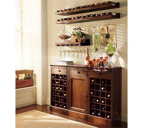modular bar buffet 2 wine grid bases 1 cabinet base