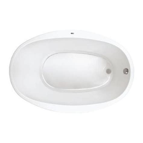 Proflo Bathtubs by Pfs5838wh Unique Size Soaking Tub White At