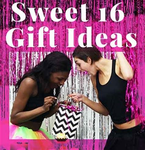 sweet gifts for sweet 16 birthday present ideas sweet 16 store