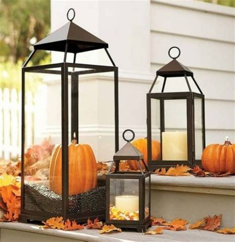 Lantern Decoration by 59 Fall Lanterns For Outdoor And Indoor D 233 Cor Digsdigs