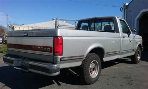 ford f150 long bed 1991 ford f150 long bed lariat 5 8l 351 cu in engine