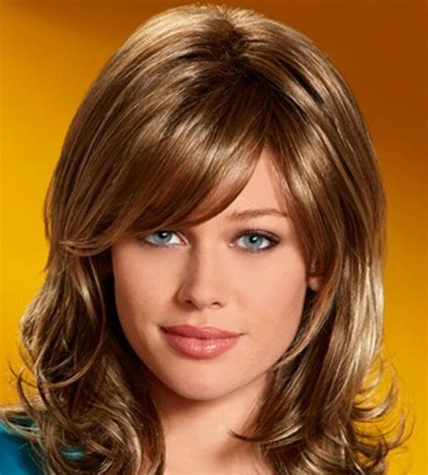 medium length hairstyles thick hair with short forehead medium hairstyles for thick hair beautiful hairstyles