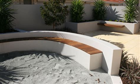 rendered outdoor wall with seating green pinterest outdoor walls walls and gardens