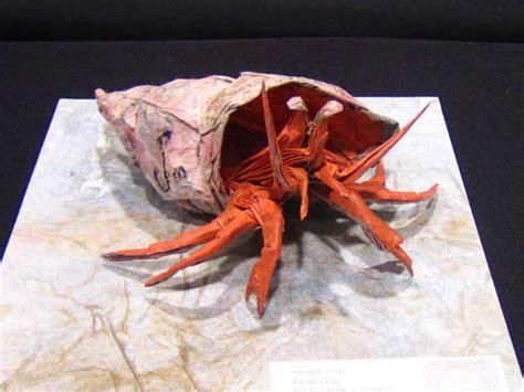 Hermit Crab Origami - hermit crab