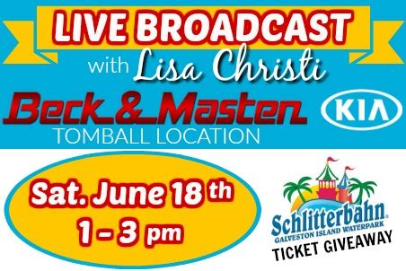 Beck Masten Kia by Live Broadcast Beck And Masten Kia Tomball K