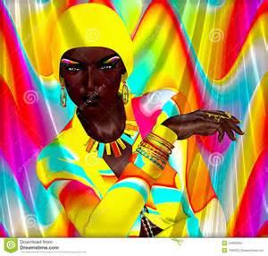 sensual african american art
