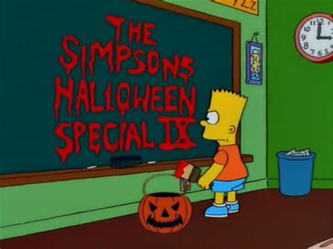 the simpsons treehouse of horror 12 the simpsons special ix 171 bart s blackboard