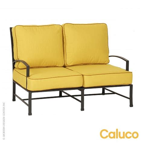 Caluco Patio Furniture San Loveseat Set Of 2 Caluco Patio Furniture Metropolitandecor