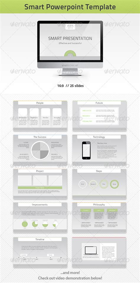smart powerpoint templates smart powerpoint template graphicriver