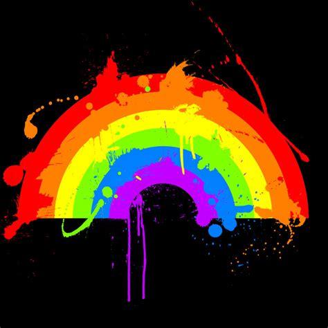 rainbow splatter d by evanescere on deviantart