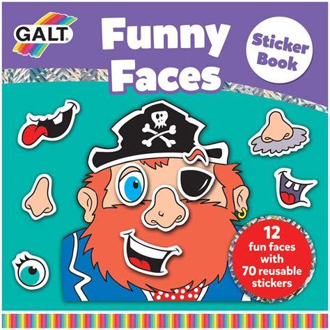 Sticker Book faces sticker book galt toys