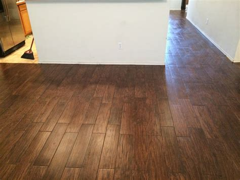 this is shaw s petrified hickory tile installed by master s flooring adept professionals yelp
