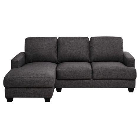 divani ad angolo in tessuto divano ad angolo sinistro grigio chin 233 in tessuto 3 4