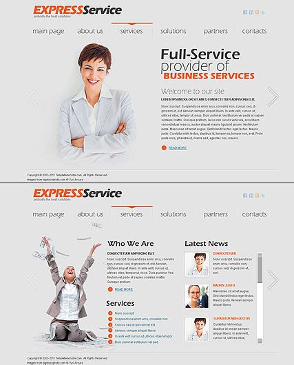 corporate express templates express business html5 template best website templates