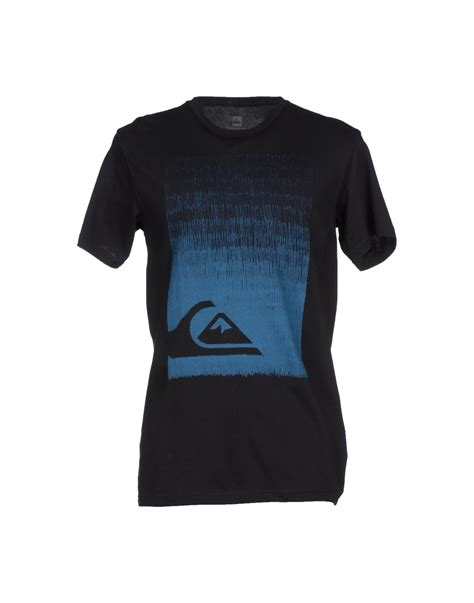 Shirt For Quiksilver T Shirt In Black For Lyst