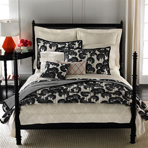Gray Duvet Cover Kate Spade New York Magnolia Park Bedding Japanese Floral