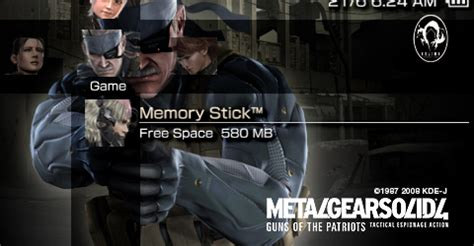 theme solid psp free psp theme metal gear solid 4 psp theme download
