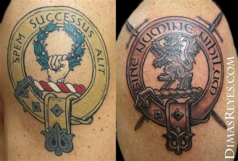 crest tattoos family crest tattoos by dimas reyes tattoos