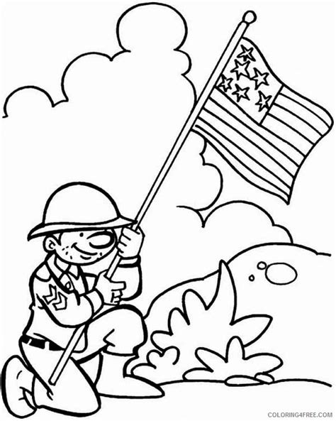 veterans day coloring pages free veterans day coloring pages for coloring4free