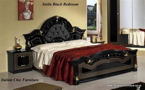 Black And Gold Headboard by Stella Bedframe Black Gold
