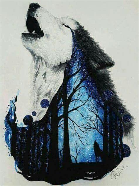 pin  mercy girl  lone wolf animal art drawings artwork