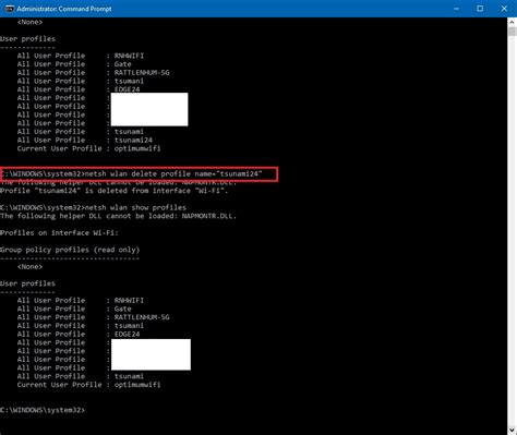 reset wifi via cmd how to manage wireless networks using command prompt in