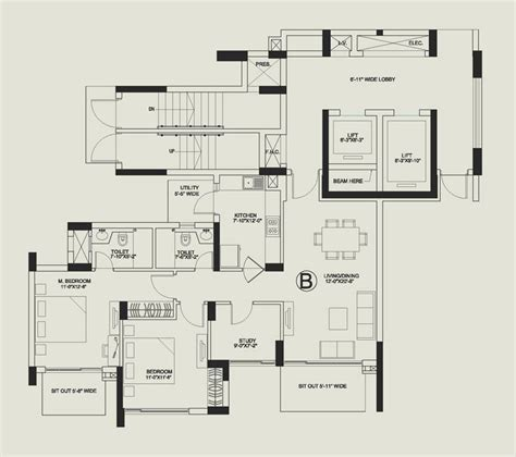 central park floor plan central park 2 gurgaon central park ii resale apartments